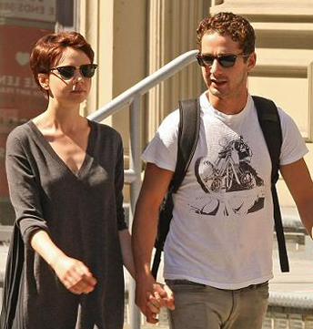 shia labeouf girlfriend carrie. Breakfast with Audrey Hepburn