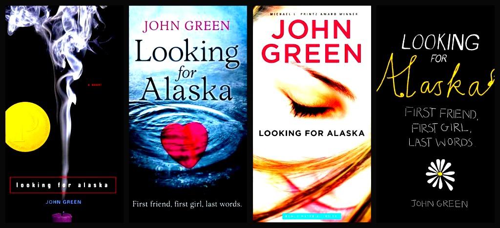 Book Cover Portadas Reviews ~ Eine wie alaska looking for von john green